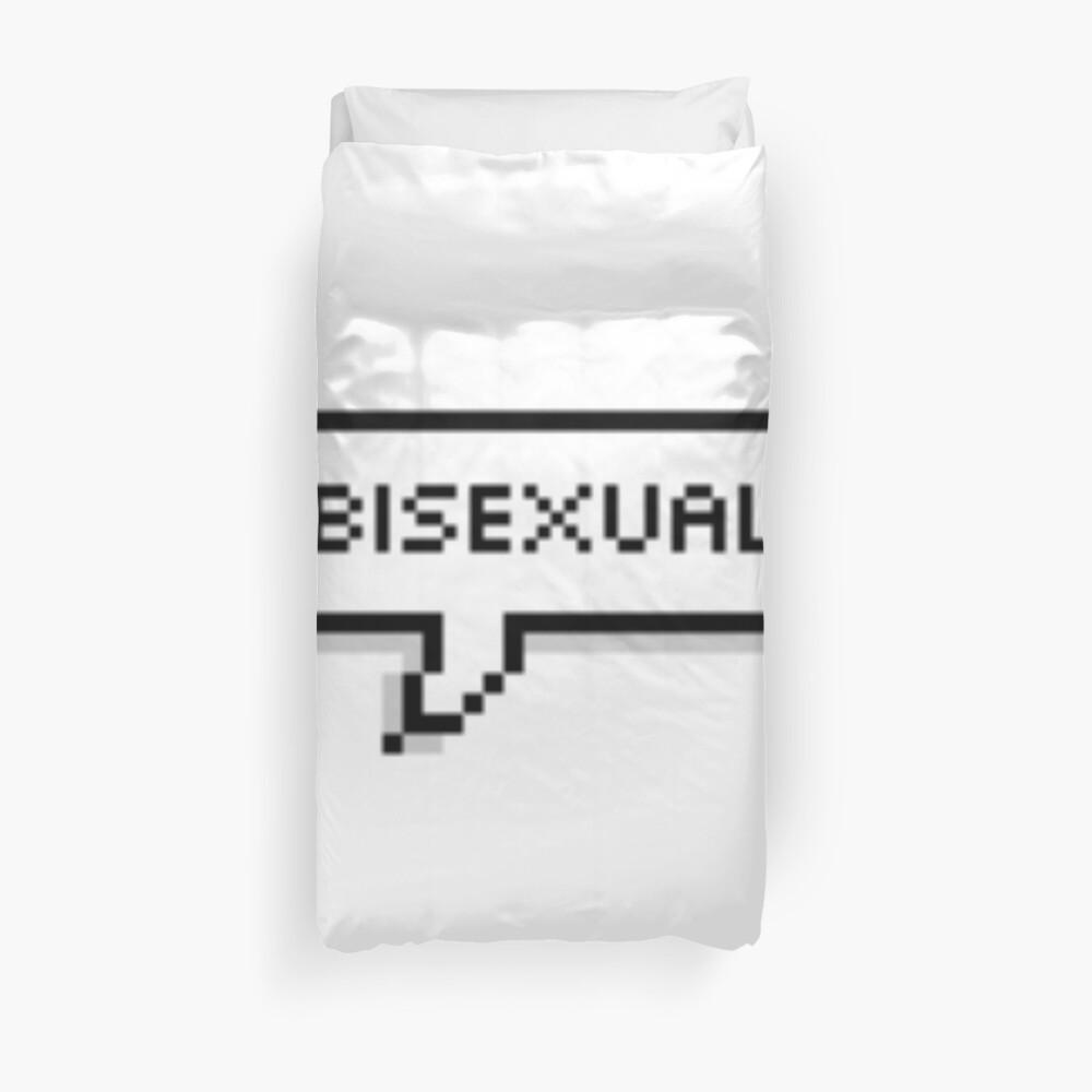 Bisexual Duvet Cover