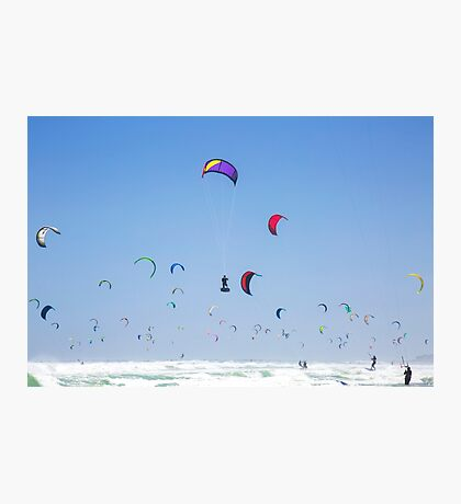 Guinness World Record - Kitesurfing - Cape Town, South Africa Photographic Print
