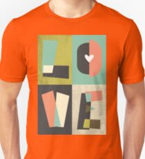 LOVE - typography full colour Unisex T-Shirt