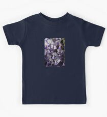 Wisteria Close Up Kids Tee