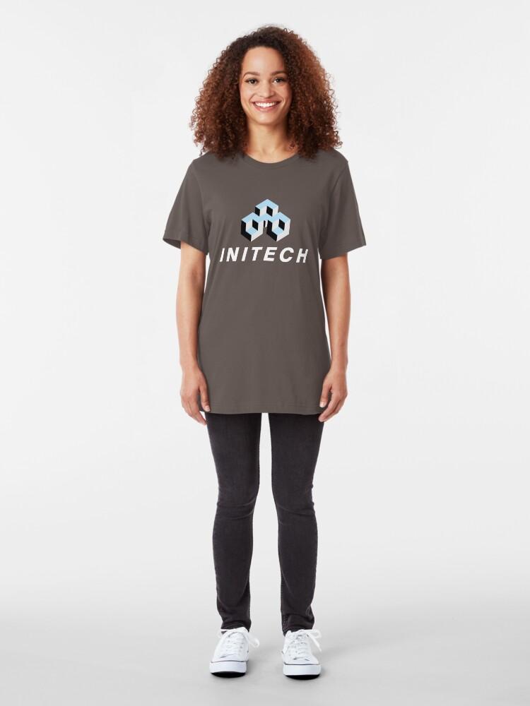 Alternate view of Intech Logo Slim Fit T-Shirt