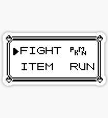 Pegatina Menú de Pokémon Gameboy