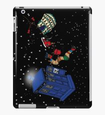 Doctor Who TARDIS Clothes Line iPad Case/Skin
