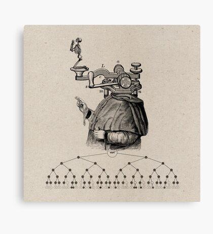 CÓDIGO (code) Canvas Print