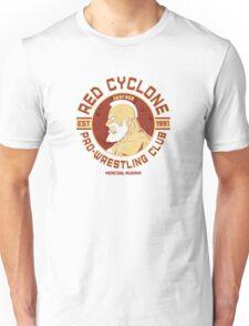 Street Fighter 2 Zangief Inspired Wrestling School Unisex T-Shirt