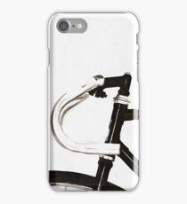 Minimalist Bicycle Painting iPhone Case/Skin
