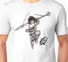 Phthalo lunge Unisex T-Shirt