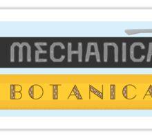 Mechanical & Botanical Sticker