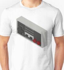 NES Controller - Isometric Unisex T-Shirt