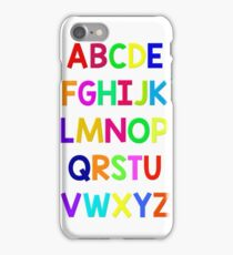 Alphabet fun iPhone Case/Skin