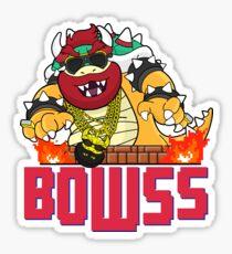 Bowss Sticker