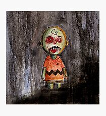 you're a zombie Charlie Brown Photographic Print