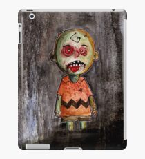 you're a zombie Charlie Brown iPad Case/Skin