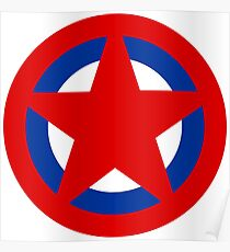 Soviet Air Forces Roundel Poster