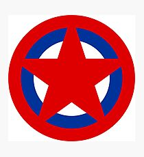 Soviet Air Forces Roundel Photographic Print