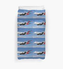 Qantas Airbus A380 Duvet Cover