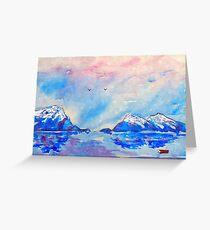 winter highlands - scotland  Greeting Card