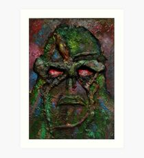 Swamp Monster Original Art Print