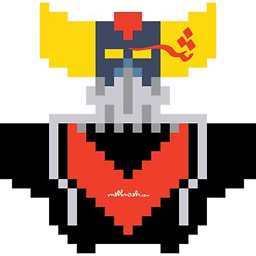 Pixel Art  Grendizer #A024 by mshmosh