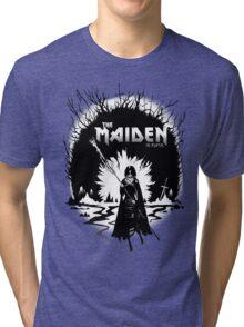 The Maiden in Black Tri-blend T-Shirt
