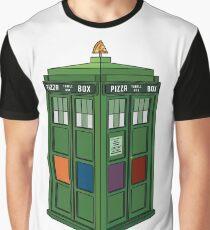 Teenage Mutant Ninja TARDIS (T.M.N.T.A.R.D.I.S.) Graphic T-Shirt