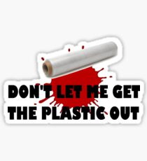 DEXTER-PLASTIC Sticker