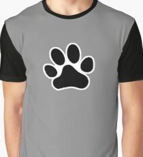 Paw Print Graphic T-Shirt