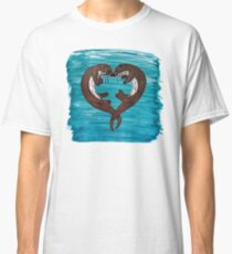 Loveheart Otters Classic T-Shirt