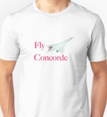Fly Concorde Unisex T-Shirt