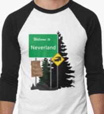 Neverland signs Men's Baseball ¾ T-Shirt