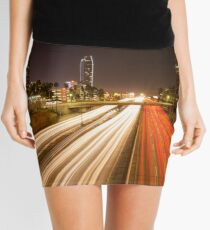 Down Town Los Angeles 101 Highway  Mini Skirt