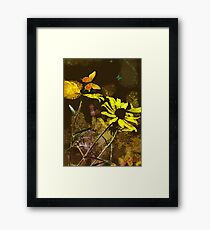 The Yellow Flowers Framed Print