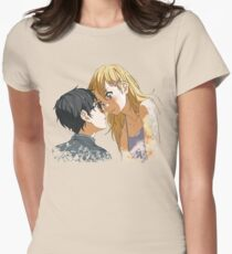 Shigatsu wa Kimi no Uso - Your lie in April Women's Fitted T-Shirt