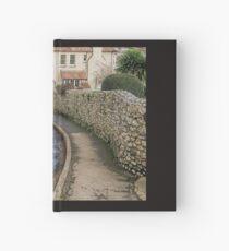 Road repairs. Lyme Regis. Dorset UK Hardcover Journal