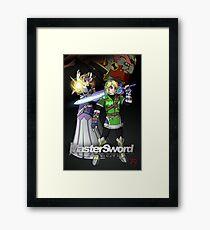 MasterSword Chronicles - Zelda/Xenoblade Crossover Framed Print