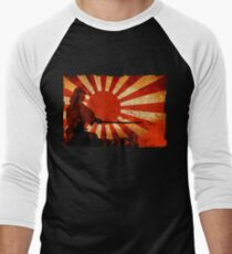 Samurai Sun Men's Baseball ¾ T-Shirt