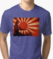 Samurai Sun Tri-blend T-Shirt