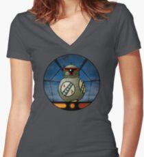 BB-Fett Women's Fitted V-Neck T-Shirt