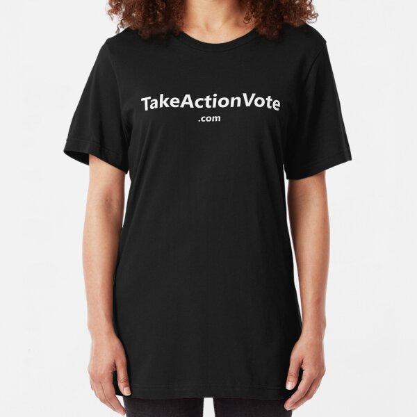 TakeActionVote.com Slim Fit T-Shirt