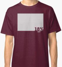 18% Grey Test Tee Classic T-Shirt