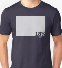 18% Grey Test Tee Unisex T-Shirt