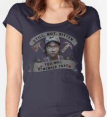 Clementine Still Not Bitten Women's Fitted Scoop T-Shirt