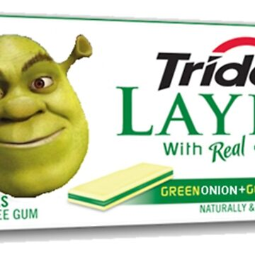 Shrek-Gum Trident Layers by GreedRetro