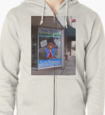 What say you? Zipped Hoodie