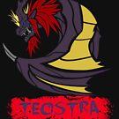The Circular Flame King Dragon by drakenwrath
