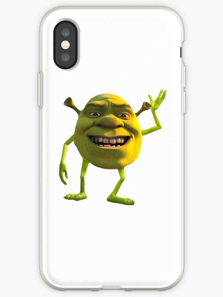 newest e1517 d73ba 'Shrek Wazowski' iPhone Case by GreedRetro