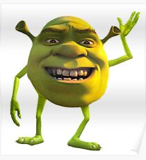 Shrek Wazowski Poster