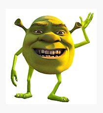 Shrek Wazowski Photographic Print