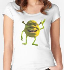 Shrek Wazowski Women's Fitted Scoop T-Shirt