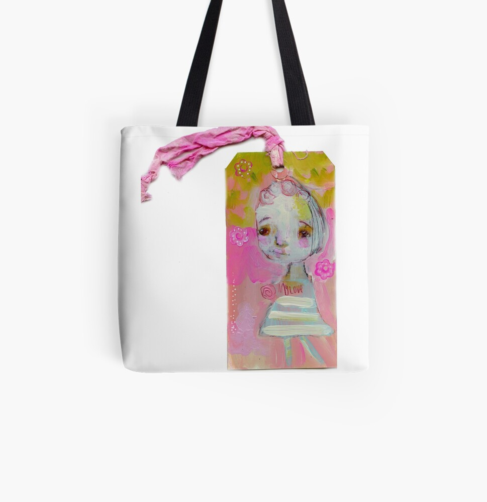 My love All Over Print Tote Bag